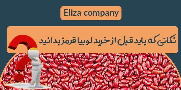 خرید و فروش انواع لوبیا قرمز