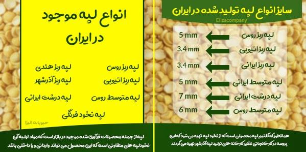 فروش انواع لپه ایرانی